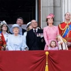 Queen Elizabeth and the royal family