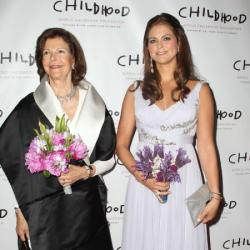 Queen Silvia and Princess Madeleine