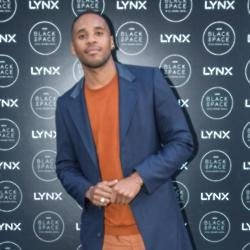 Reggie Yates at the launch of Black Space by Lynx