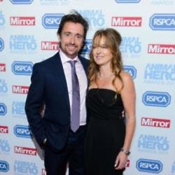 Richard Hammond  and his wife Mindy Hammond at the Animal Hero Awards