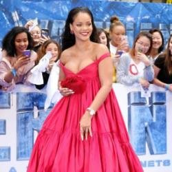 Rihanna remembers being blamed for the UK's wet summer