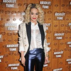 Rita works her leather pants