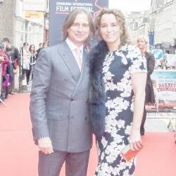 Robert Carlyle and his partner Anastasia Shirley