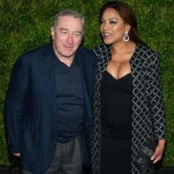 Robert De Niro and his wife Grace Hightower