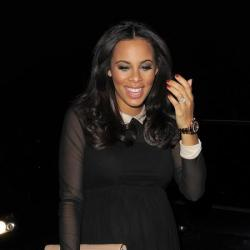 Rochelle Humes looks chic in ASOS