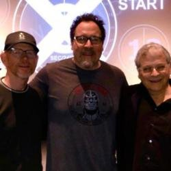 Ron Howard, Jon Favreau and Lawrence Kasdan (c) Twitter
