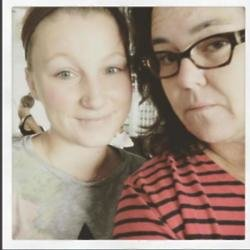Rosie and Chelsea O'Donnell (c) Instagram