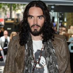 Russell Brand was angered by Katy Perry question