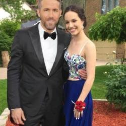 Ryan Reynolds and Gabi Dean (c) Twitter
