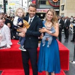 Ryan Reynolds, Blake Lively and daughters