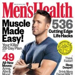 Ryan Reynolds for Men's Health magazine