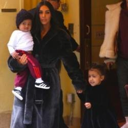 Saint, Kim Kardashian and North West