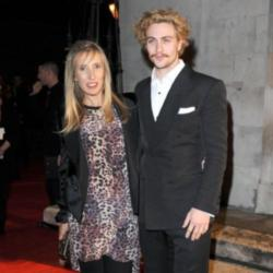 Sam Taylor-Wood with husband Aaron Taylor-Johnson
