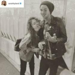 Sarah Hyland and Wells Adams (c) Instagram/Sarah Hyland