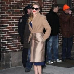 Scarlett Johansson looks beautiful in her retro look