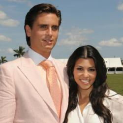 Scott Disick and Kourtney Kardashian in 2012