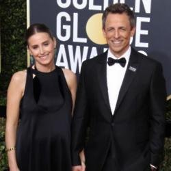 Seth Meyers with wife Alexi Ashe
