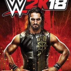 Seth Rollins on WWE 2K18 cover