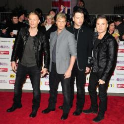 Nicky Byrne with Westlife