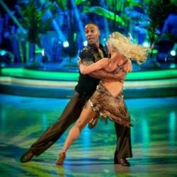 Simon Webbe and dance partner Kristina Rihanoff