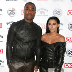 Simon Webbe and his wife Ayshen