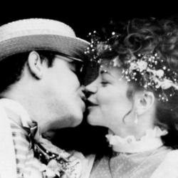 Sir Elton John and Renate Blauel
