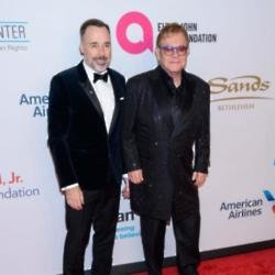 David Furnish and Sir Elton John