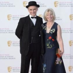 Sir Mark Rylance and Lady Claire van Kampen