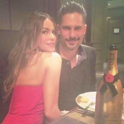 Sofia Vergara and Joe Manganiello (c) Instagram