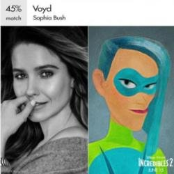Sophia Bush as Voyd (c) Facebook
