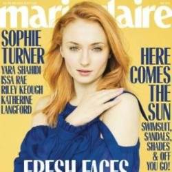 Sophie Turner in Marie Claire