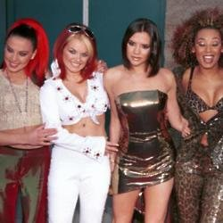 The Spice Girls in their hey day