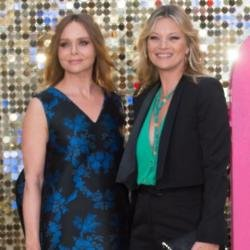 Stella McCartney and Kate Moss at Absolutely Fabulous: The Movie premiere