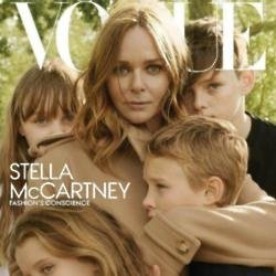 Stella McCartney on Vogue cover