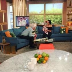 Stephanie Davis on This Morning (c) Twitter