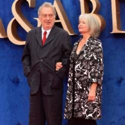 Stephen Frears and wife Anne Rothenstein