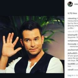 Stephen Gately (c) Ronan Keating Instagram