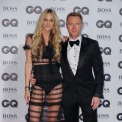 Storm and Ronan Keating GQ Men of The Year Awards