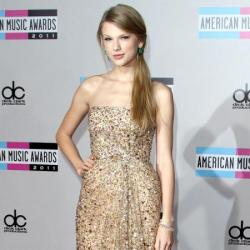 Taylor Swift is a fan of sequinned and embellished dresses