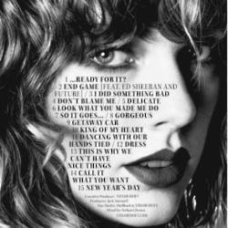 Taylor Swift reveals album track list
