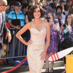 Teri Hatcher at the world premiere of Planes