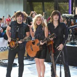 Kimberly Perry and her brothers and bandmates