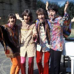 John Lennon with the Beatles