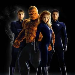 The cast of Fantastic Four