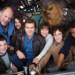 The cast of the Han Solo spin-off movie