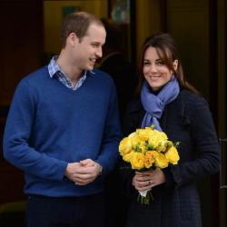 William and Kate left the hospital earlier this week