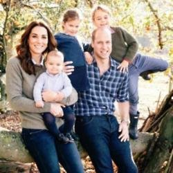 The Duke and Duchess of Cambridge's Christmas card