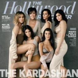 The Kardashian family for The Hollywood Reporter