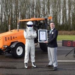 The Stig Guinness World Record