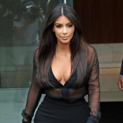 Kim shows off her curvy figure more now